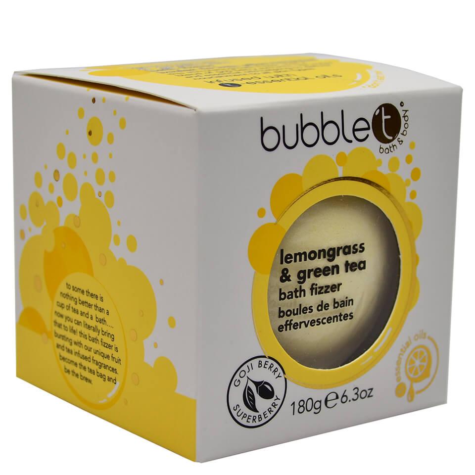 Köpa billiga Bubble T Bath Fizzer - Lemongrass & Green Tea 180g online