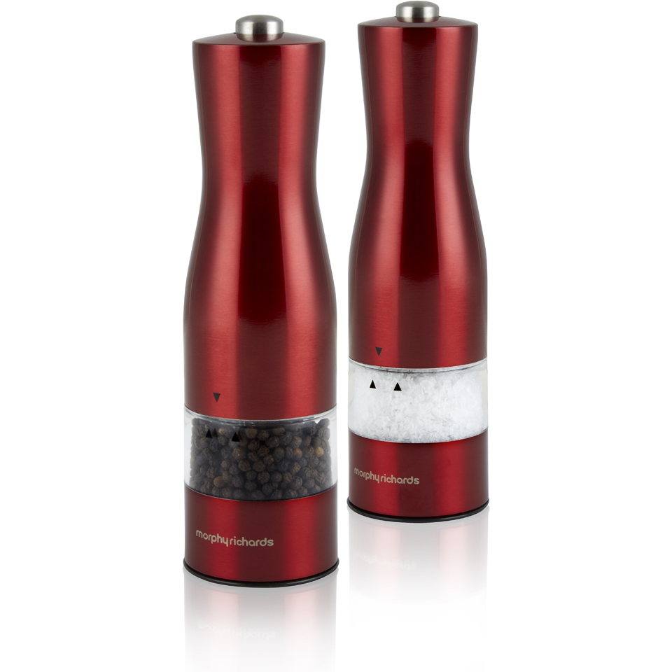 morphy-richards-974230-electric-saltpepper-mill-red