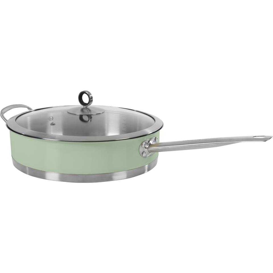 morphy-richards-973032-accents-28cm-saute-pan-green