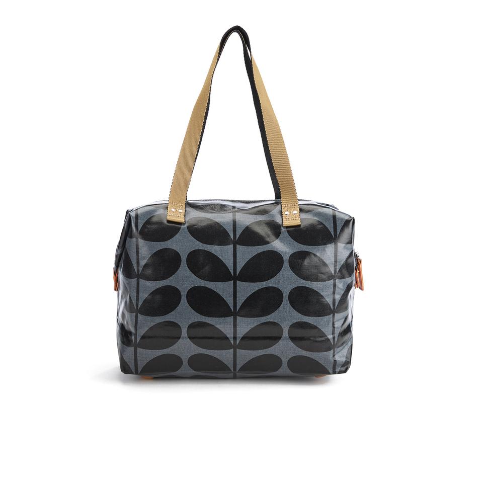 orla-kiely-women-linear-stem-print-laminated-zip-shopper-bag-midnight