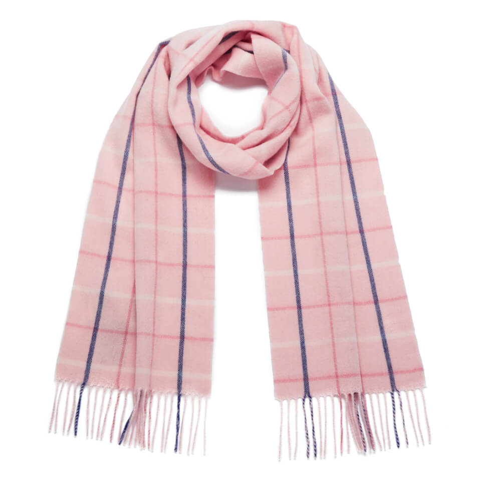 barbour-women-country-tattersall-scarf-pink-plaid