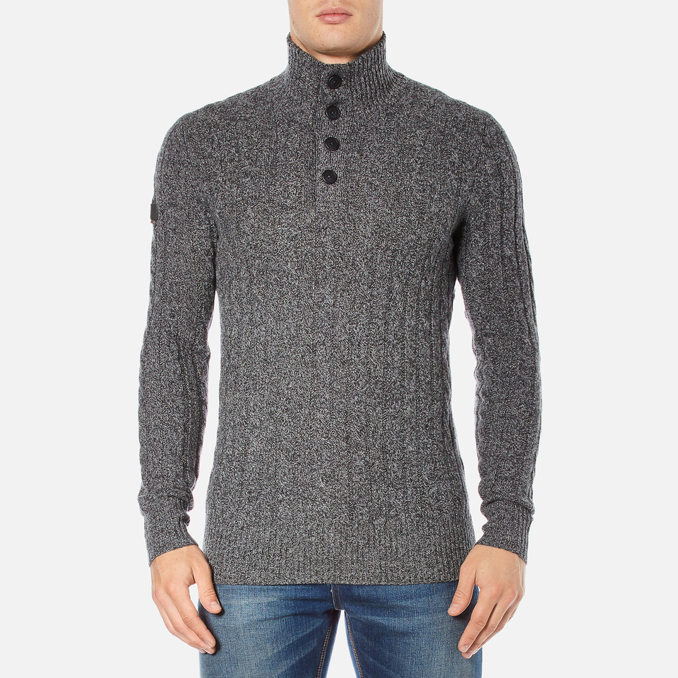 superdry-men-harrow-regatta-henley-jumper-gunmetal-twist-m