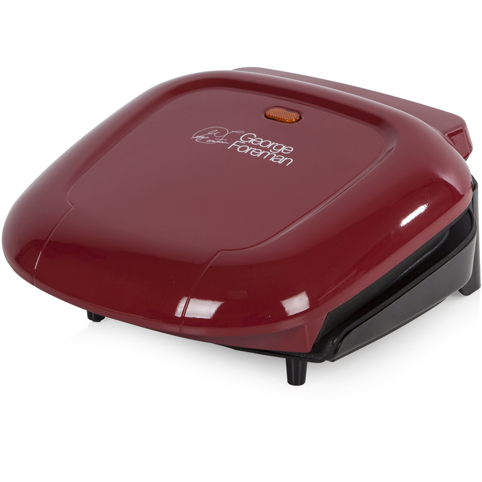 george-foreman-compact-grill-red