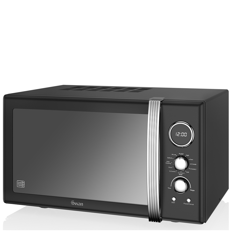 swan-retro-25l-digital-combi-microwave-with-grill-black