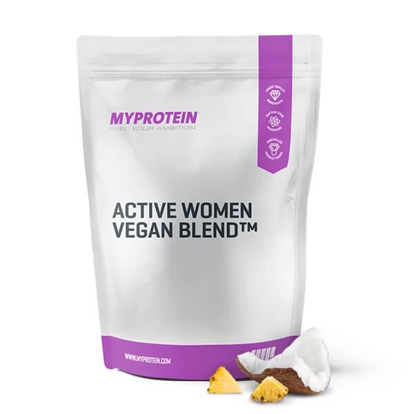 active-woman-vegan-blend-pineapple-coconut-500g
