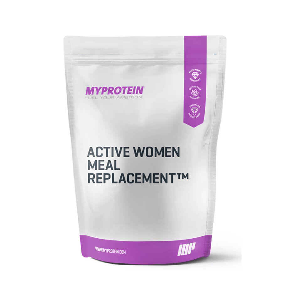 Foto Active Woman Meal Replacement - Strawberry Shortcake - 1kg Myprotein