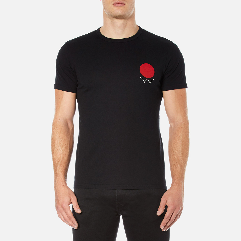 edwin-men-red-dot-logo-2-t-shirt-black-s