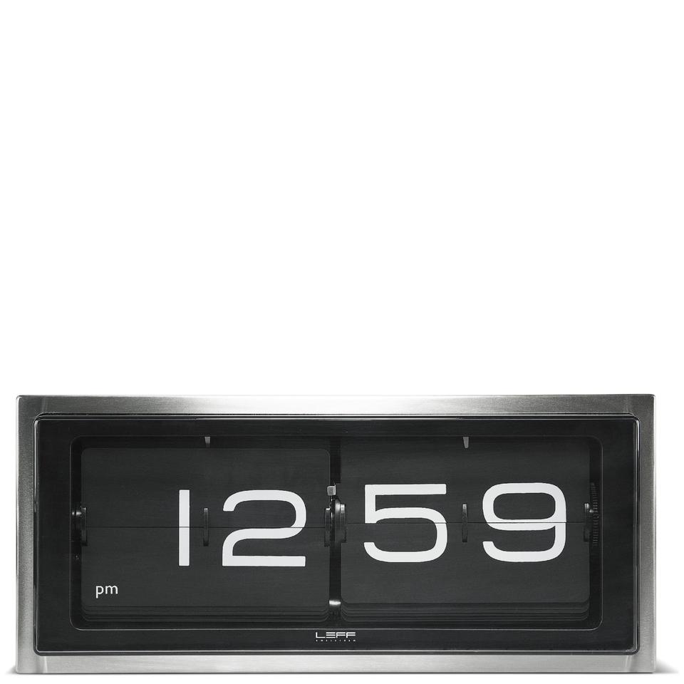 leff-amsterdam-brick-wall-desk-clock-stainless-steel
