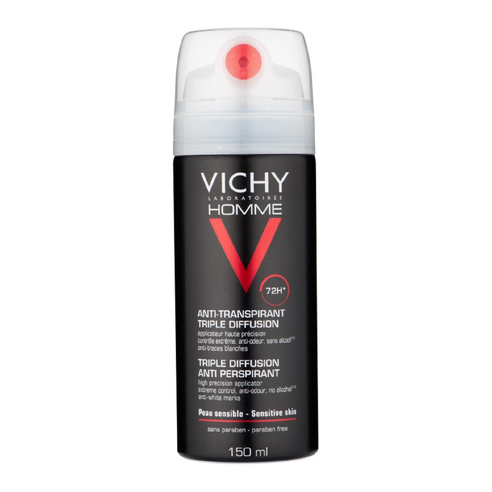 Köpa billiga Vichy Homme Triple Diffusion Anti-Perspirant 150ml online