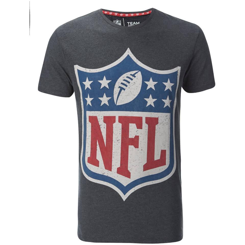 nfl-men-logo-slim-fit-t-shirt-grey-s