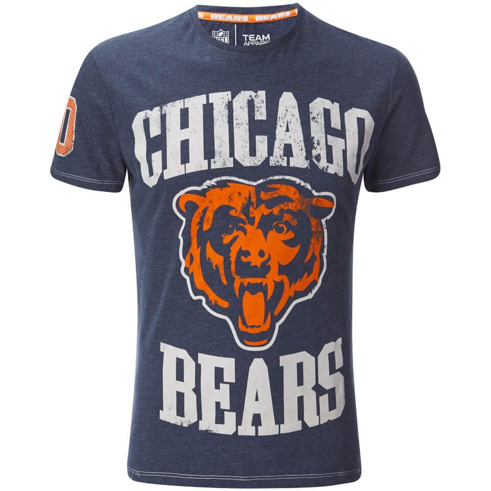 nfl-men-chicago-bears-logo-slim-fit-t-shirt-navy-s
