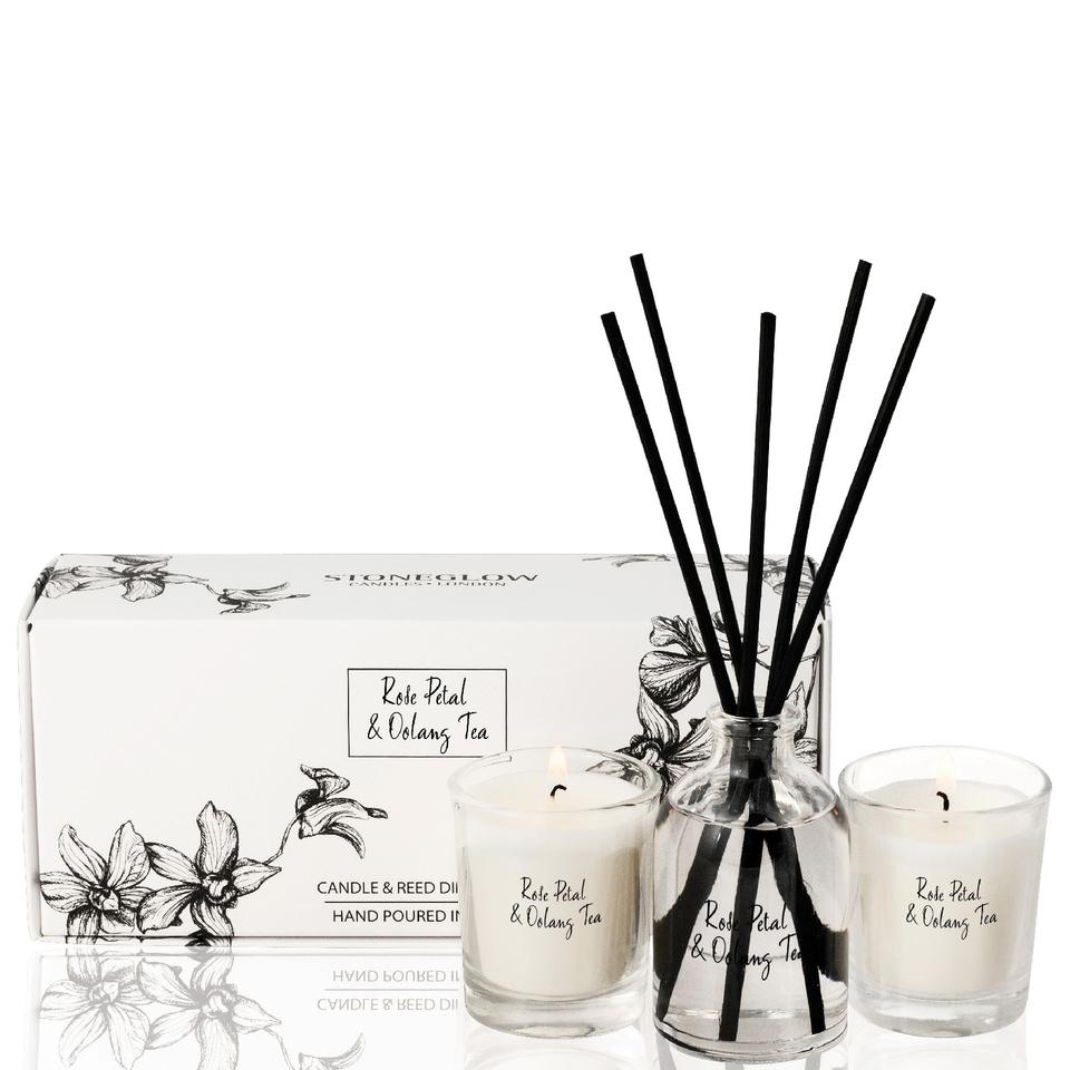 stoneglow-rose-petal-oolong-tea-candle-reed-gift-set