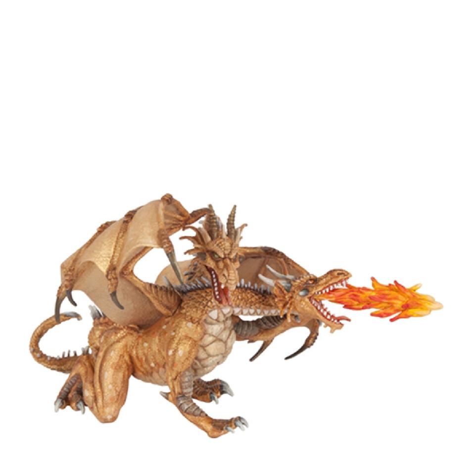 papo-fantasy-world-two-headed-dragon-gold