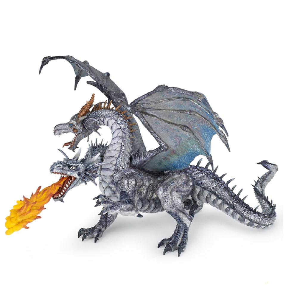papo-fantasy-world-two-headed-dragon-silver