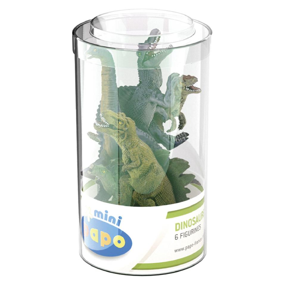 papo-mini-plus-dinosaurs-set-1-tube-6-pieces