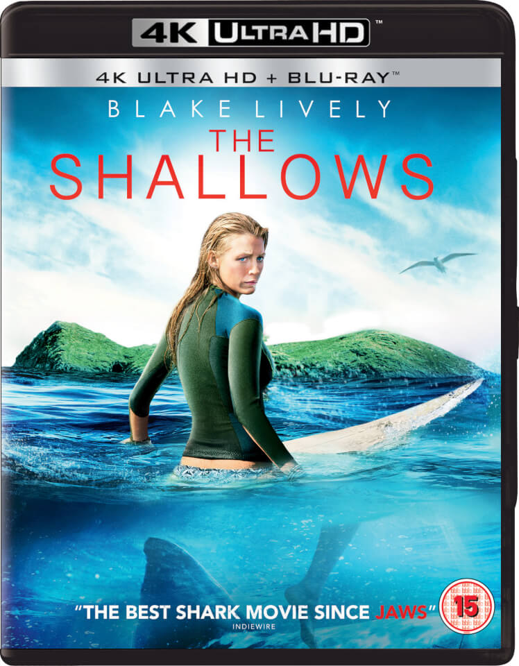 the shallows 4k ultra hd blu ray. Black Bedroom Furniture Sets. Home Design Ideas
