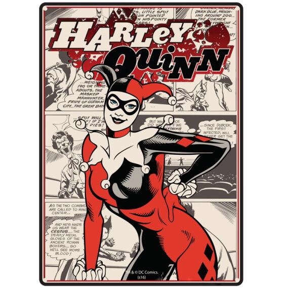 dc-comics-harley-quinn-small-tin-sign-29cm-x-42cm