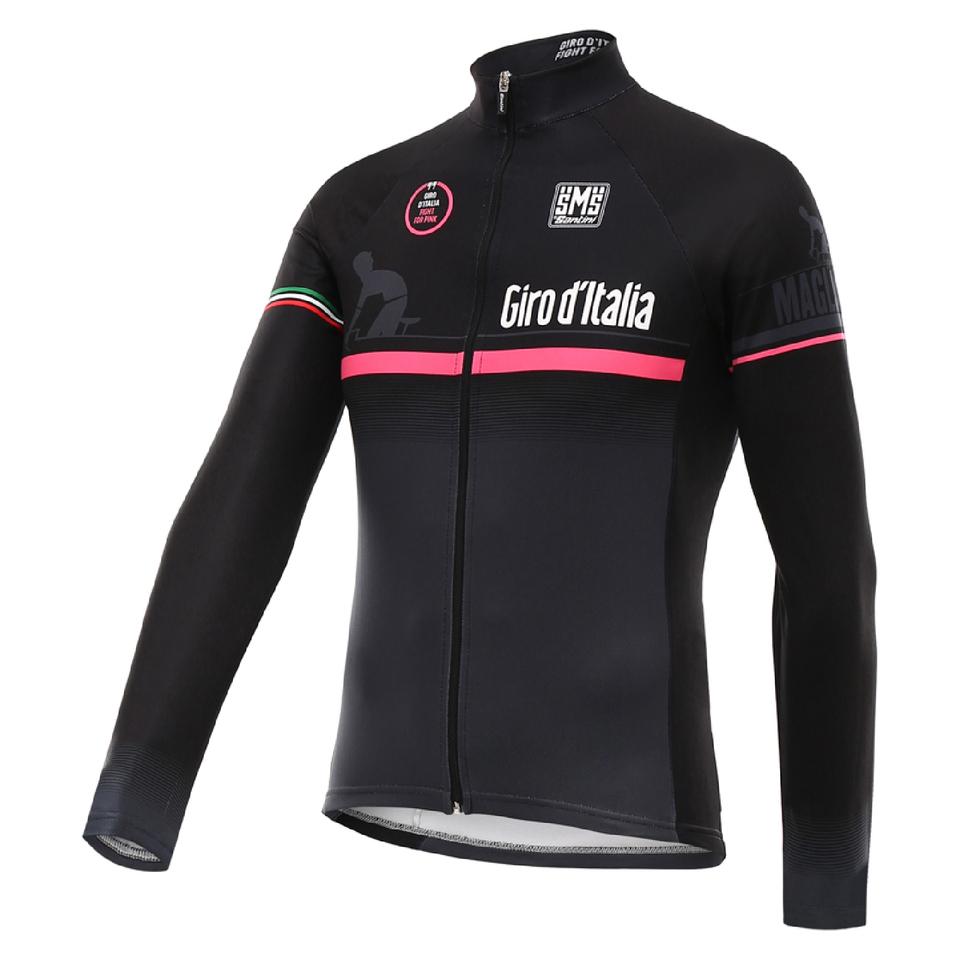 santini-giro-d-16-maglia-nero-thermal-long-sleeve-jersey-black-m