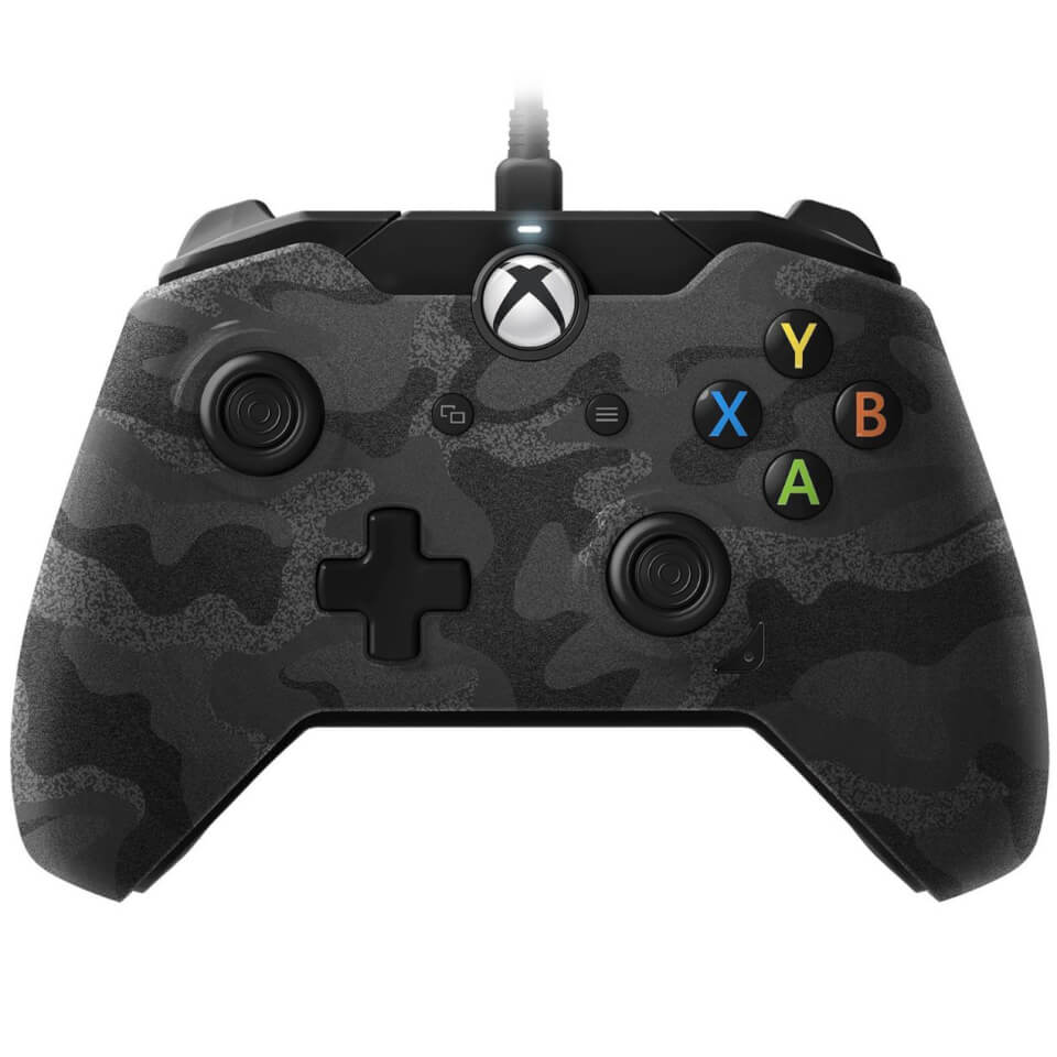 PDP Camo Wired Controller Xbox One Games Accessories ...