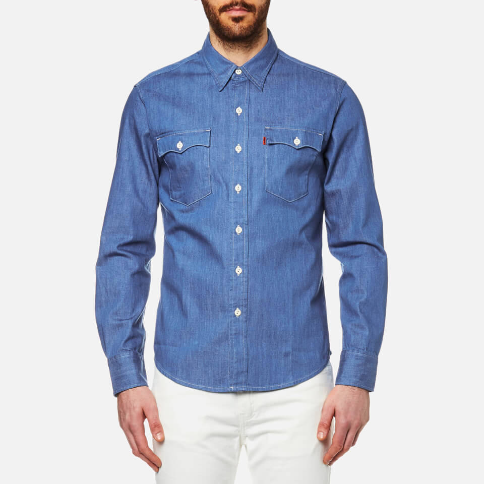 Mens Shirts  Check amp Denim Short amp Long Sleeve Shirts  MampS