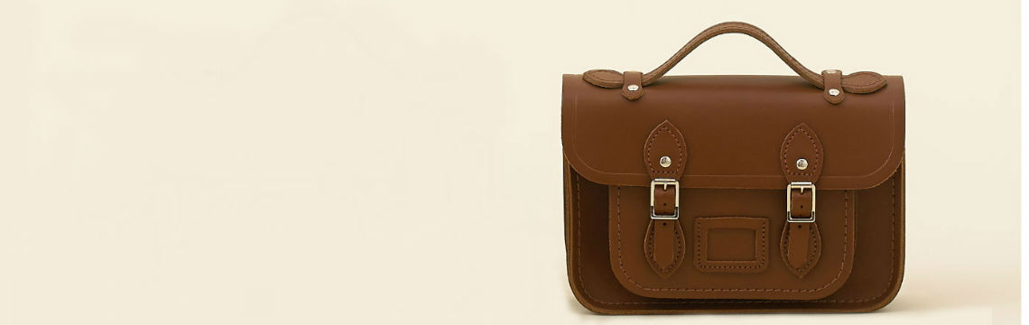 Shop designer handbags at MyBag now. With designer handbags from The Cambridge Satchel Company, Grafea, Rebecca Minkoff and Aspinal of London, there's something for everyone!