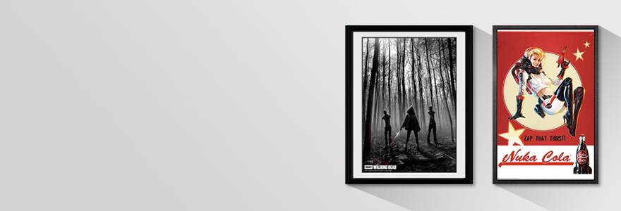 Framed Prints and Posters Clothing Statues, Busts and Figures Posters ...