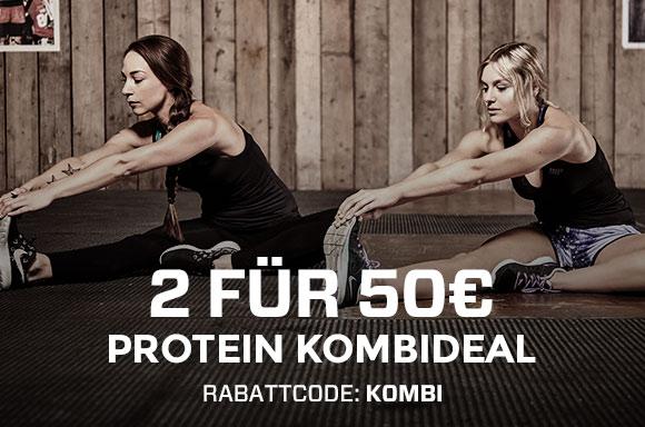 Myprotein: 2 x 2,5kg Protein Pulver für €50