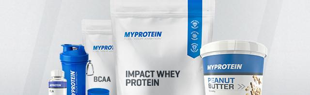 Myprotein: 3 für 2 auf das gesamte Sortiment