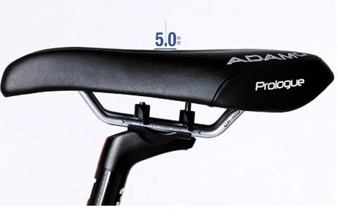 Black ISM Adamo Prologue saddle