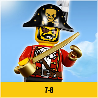 Lego for between 7 and 8 Year Olds