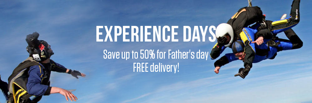 Experience days for Dad
