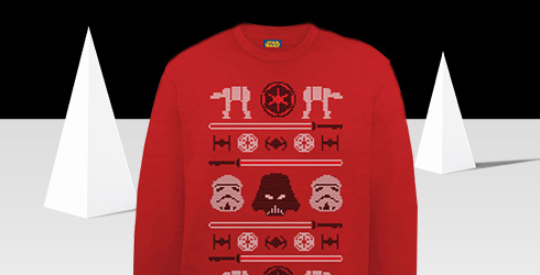 Star Wars Christmas Jumpers for £16.99