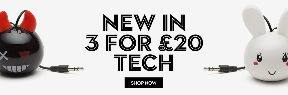 New in Technology 3 for £20 Mix n Match