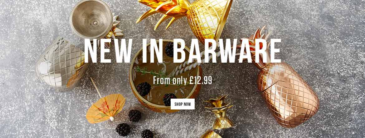 New in Barware - From only £12.99