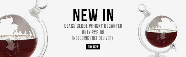 Globe Whisky Decanter