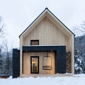A Woodland Cottage in Quebec
