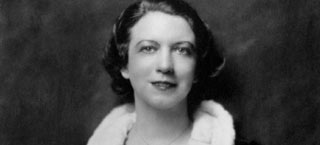 Photograph of the founder of Elizabeth Arden