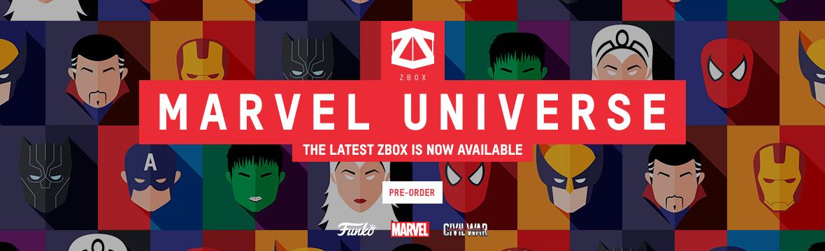 MARVEL UNIVERSE ZBOX