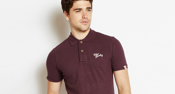 2 POLO SHIRTS FOR £18