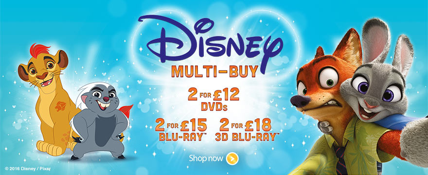 DISNEY MUTLI BUY - dvd