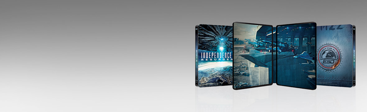 INDEPENDENCE DAY: RESURGENCE ZAVVI EXCLUSIVE STEELBOOK