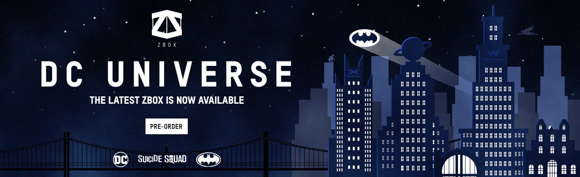 DC UNIVERSE BANNERS