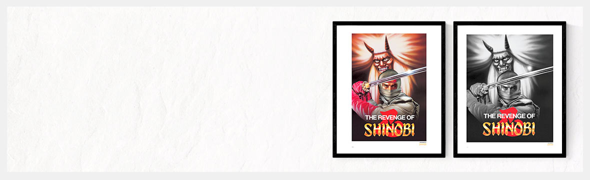 THE REVENGE OF SHINOBI GICLEE PRINT