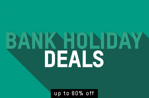 Bank Holiday - save up to 80% off on games, blu-ray, technology and more.