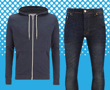 HOODY & JEANS ONLY £19.99