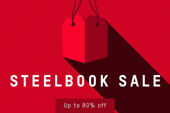 STEELBOOK SALE