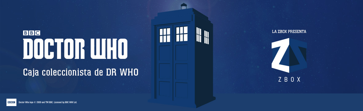 DR WHO ZBOX