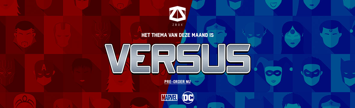 MARVEL VS DC ZBOX