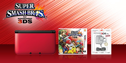 Nintendo 3DS XL Super Smash Bros. Pack