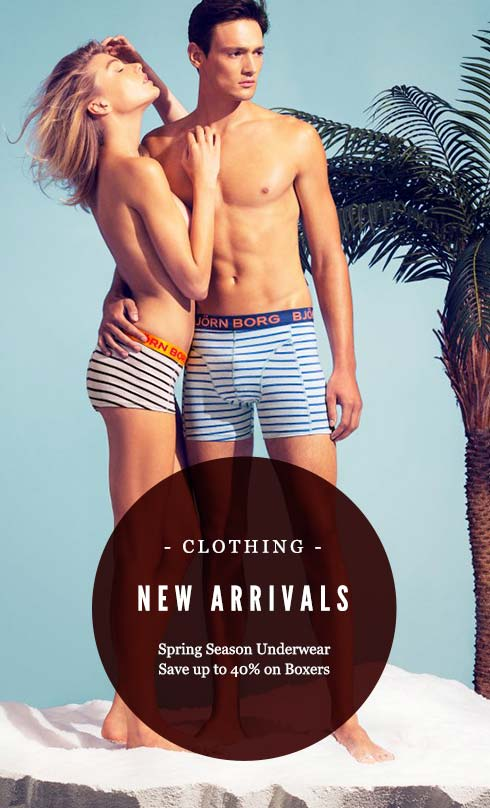 Spring Season, Save Up to 40% OFF On Selected Underwear Plus new arrivals at Mankind.co.uk